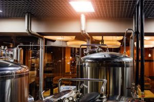 Craft,Beer,Production,Line,In,Private,Microbrewery